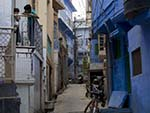 The blue alleyways of Jodhpur