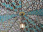 Beautiful mosaic ceiling of Khalvat Karim Khani