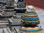 Small stupas of Shigha Bihar