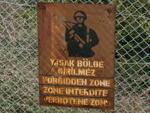 Forbidden Zone sign